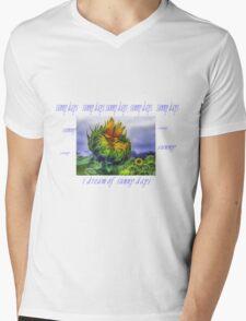 Sunny Days Mens V-Neck T-Shirt