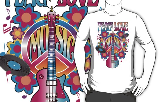 Peace, Love and Music by Lisann