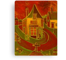 The village post office Canvas Print