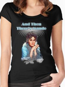 And then there's Maude Women's Fitted Scoop T-Shirt
