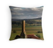 collapsed Throw Pillow