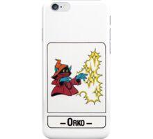 He-Man - Orko - Trading Card Design iPhone Case/Skin