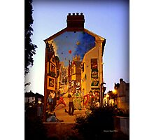 Festive Mural Photographic Print