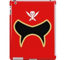 Super Megaforce / Gokaiger Red iPad Case/Skin