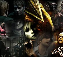 Silent Hill collage by Aliesha Hamrick