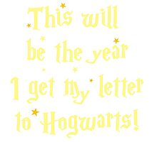 This will be the year I get my letter to Hogwarts Photographic Print