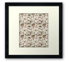 FINE FINCHES Framed Print