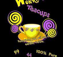 Wonka's Teacups by AllMadDesigns