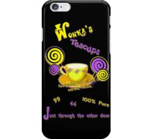 Wonka's Teacups iPhone Case/Skin