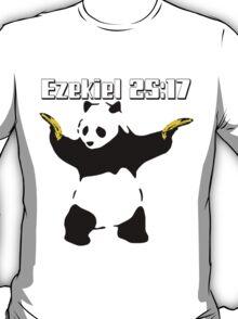 Panda Brothers Keeper Ezekiel 25:17  T-Shirt