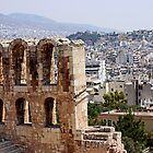 View from Acropolis by Trish Hamilton
