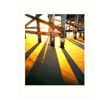 WPPD 2008 - Coffs Harbour jetty at sunrise Art Print