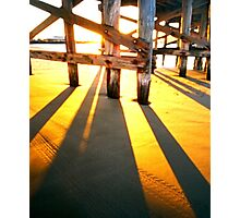 WPPD 2008 - Coffs Harbour jetty at sunrise Photographic Print