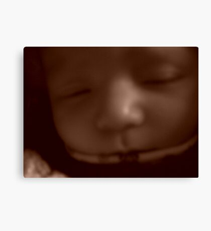 Peaceful Baby Canvas Print