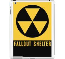FALLOUT SHELTER  iPad Case/Skin