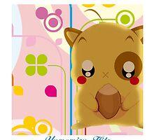 kawaii hamster by Yumemiru