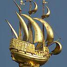 Golden Sail by Gilberte