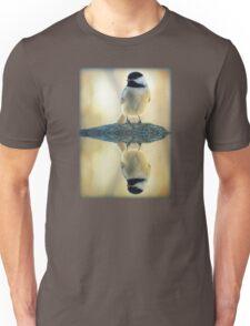 Reflecting Pool Chickadee Unisex T-Shirt