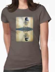 Reflecting Pool Chickadee Womens Fitted T-Shirt