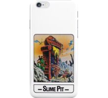 He-Man - Slime Pit - Trading Card Design iPhone Case/Skin