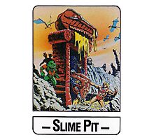 He-Man - Slime Pit - Trading Card Design Photographic Print