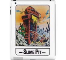 He-Man - Slime Pit - Trading Card Design iPad Case/Skin