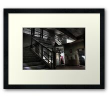 Passing out or coming in Framed Print