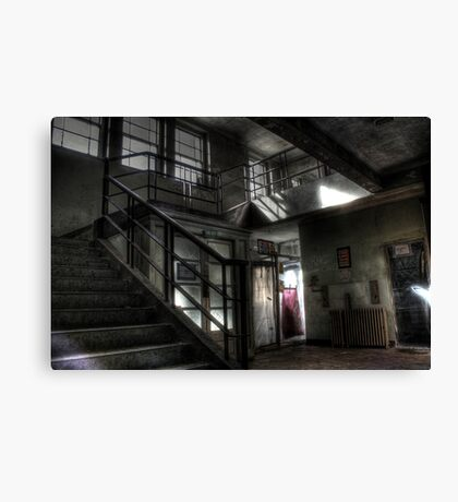 Passing out or coming in Canvas Print