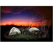 Two Rocks Alone Photographic Print