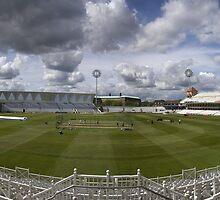 Trent Bridge Cricket Ground 1st May 2008 by geoff curtis