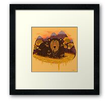HONEY HIBERNATION Framed Print