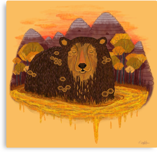 HONEY HIBERNATION by Nichole Lillian Ryan