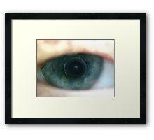 Eye See It. Framed Print