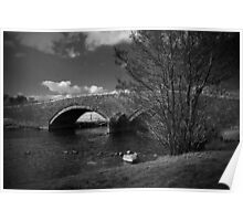 Bridge over River Ehen Poster