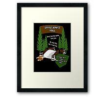 Little John's Toll Framed Print