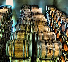 Lots of barrels by Leonell Puso