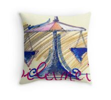 bilancia Throw Pillow