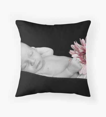 Rock-a-bye baby Throw Pillow