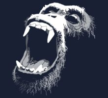 Primate Scream by rubyred