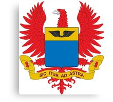 Coat of Arms of the Colombian Air Force  Canvas Print