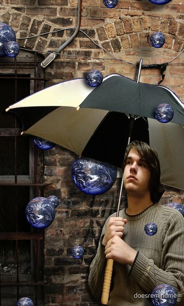 the world rains on me by doesremindme