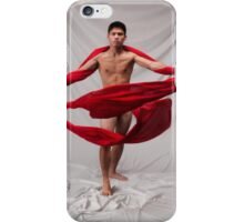 The Boy in Red iPhone Case/Skin
