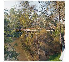 The Goulburn River at Seymour Vic Australia Poster