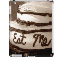 Alice's Eat Me Cake iPad Case/Skin