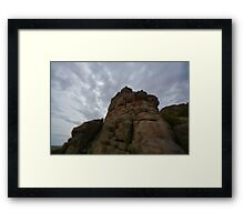 Miter Rock Framed Print