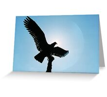 Where Highest Hopes Take Wing Greeting Card