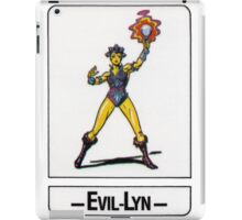 He-Man - Evil-Lyn - Trading Card Design iPad Case/Skin