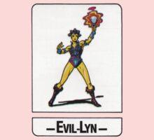 He-Man - Evil-Lyn - Trading Card Design Kids Tee