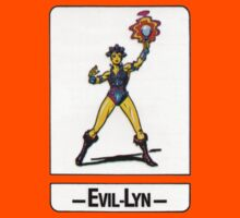 He-Man - Evil-Lyn - Trading Card Design Kids Tee