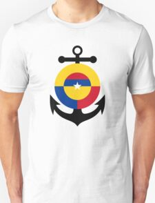 Roundel of the Colombian Naval Aviation  T-Shirt
